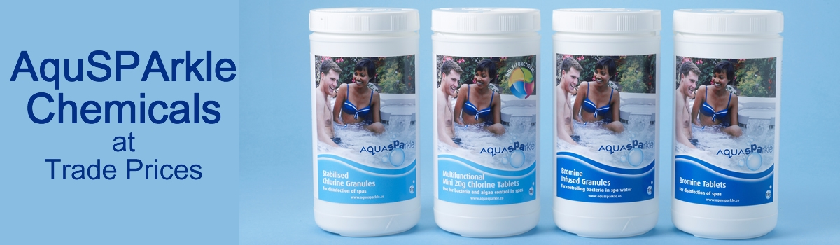 Aquasparkle Hot Tub Chemicals